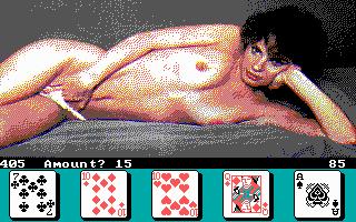 Nude Strip Poker Game