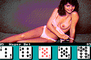 poker Deluxe strip