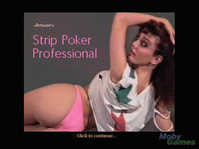 my strip poker