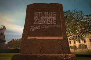 Stubbs the Zombie in Rebel Without a Pulse 0