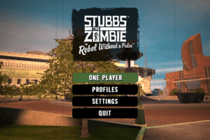 Stubbs the Zombie in Rebel Without a Pulse 1