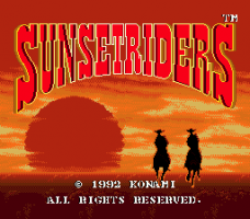 Sunset Riders 0