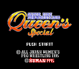 Super Fire Pro Wrestling Queen's Special 0