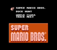 Super Mario Bros. / Duck Hunt / World Class Track Meet 0