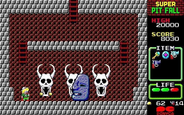 Super Pitfall Review - Nintendo NES, Game Reviews - Vizzed