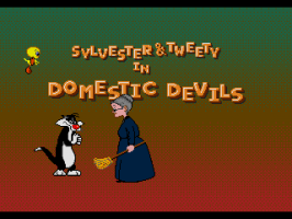 Sylvester and Tweety in Cagey Capers abandonware