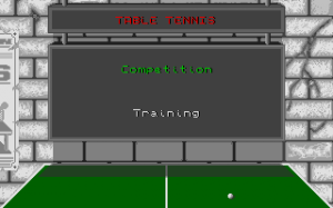 Table Tennis Simulation 1