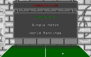 Table Tennis Simulation abandonware