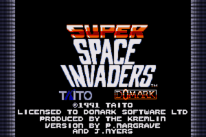 Taito's Super Space Invaders 0