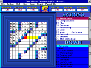 Take a Break! Crosswords abandonware