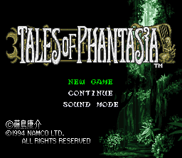 Tales of Phantasia 1