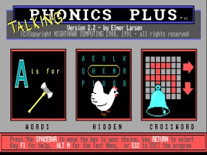 Talking Phonics Plus abandonware