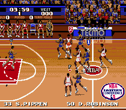 Tecmo Super NBA Basketball 11