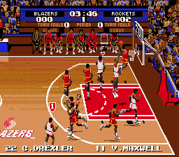 Tecmo Super NBA Basketball 3