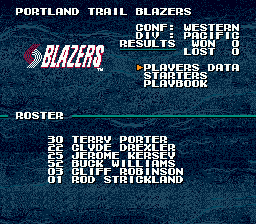 Tecmo Super NBA Basketball 6