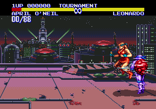 Teenage Mutant Ninja Turtles: Tournament Fighters 9