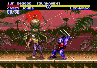 Teenage Mutant Ninja Turtles: Tournament Fighters 10