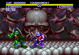 Teenage Mutant Ninja Turtles: Tournament Fighters 12