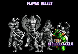 Teenage Mutant Ninja Turtles: Tournament Fighters 3