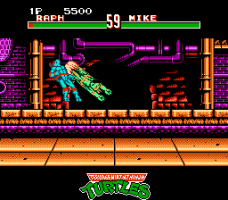 Teenage Mutant Ninja Turtles: Tournament Fighters 8