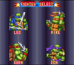 Teenage Mutant Ninja Turtles: Tournament Fighters 11
