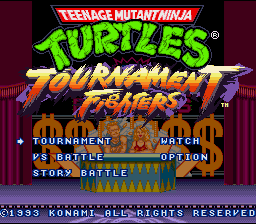 Teenage Mutant Ninja Turtles: Tournament Fighters 1