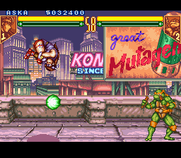 Teenage Mutant Ninja Turtles: Tournament Fighters 19