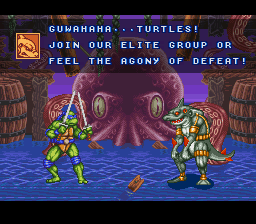 Teenage Mutant Ninja Turtles: Tournament Fighters 4