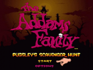 The Addams Family: Pugsley's Scavenger Hunt 0