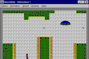 The Adventures of MicroMan abandonware