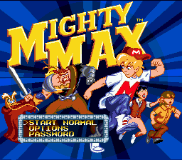 The Adventures of Mighty Max 0