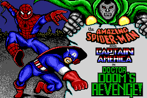 The Amazing Spider-Man and Captain America in Dr. Doom's Revenge! 0