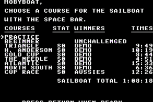The American Challenge: A Sailing Simulation abandonware