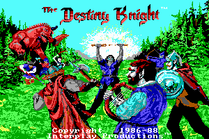 The Bard's Tale II: The Destiny Knight 1