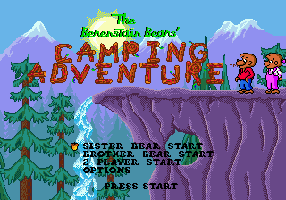 The Berenstain Bears' Camping Adventure 1