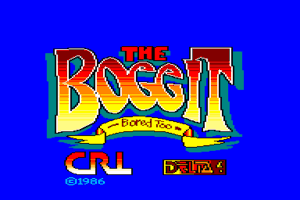 The Boggit: Bored Too 1