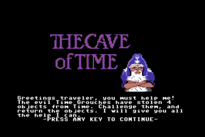The Cave of Time 0