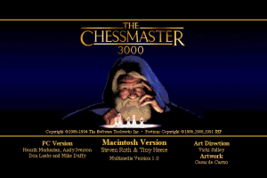 The Chessmaster 3000 Multimedia abandonware