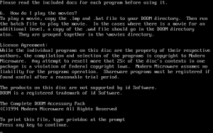The Complete DOOM Accessory Pack abandonware