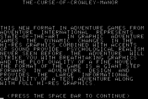 The Curse of Crowley Manor 1