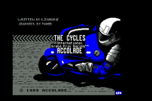 The Cycles: International Grand Prix Racing 0