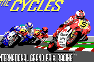 The Cycles: International Grand Prix Racing 1