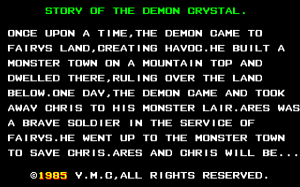The Demon Crystal 1