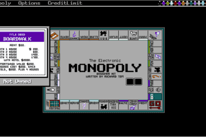 The Electronic Monopoly abandonware