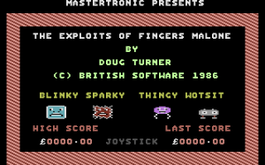 The Exploits of Fingers Malone abandonware