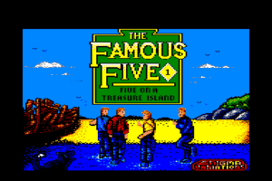 The Famous Five: Five on a Treasure Island 0