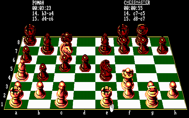 The Fidelity Chessmaster 2100 12