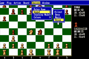 The Fidelity Chessmaster 2100 11