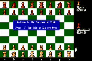 The Fidelity Chessmaster 2100 2