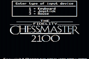 The Fidelity Chessmaster 2100 0